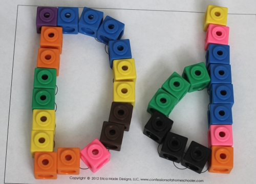 Literacy Learning Station - Letters DEF. Hands-on literacy activities using printables and manipulatives.
