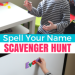 Name Activity: Spell Your Name Scavenger Hunt