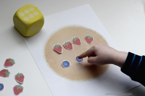 Pancake Counting and Addition Game