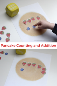 Preschool Math: Counting and Addition with Pancakes