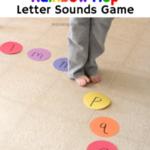 Rainbow Hop Letter Sounds Game