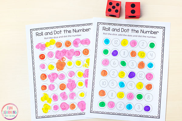 Kids will have a blast with this hands-on number sense activity.