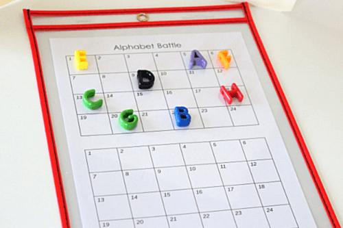 Alphabet Battle Letter Learning Game