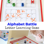 Alphabet Battle Letter Learning Game