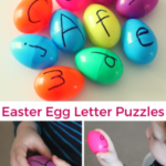 Easter Egg Letter Puzzles