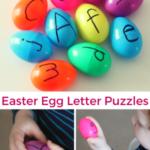 Easter Egg Letter Puzzles