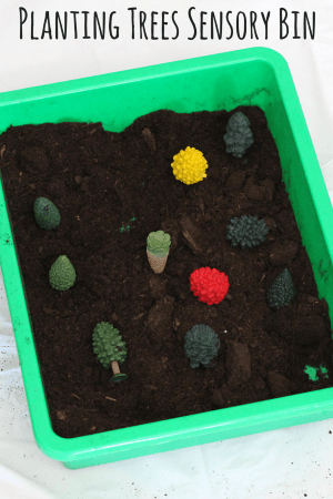 Great preschool activity for Earth Day or Arbor Day!