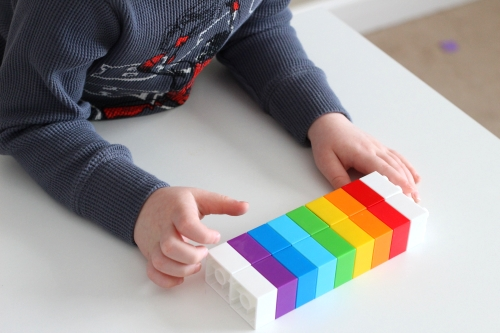 Match rainbow pattern up to model to see if you have the correct pattern