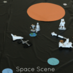 Space Scene Play Mat