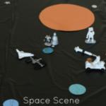 Space Scene Play Mat