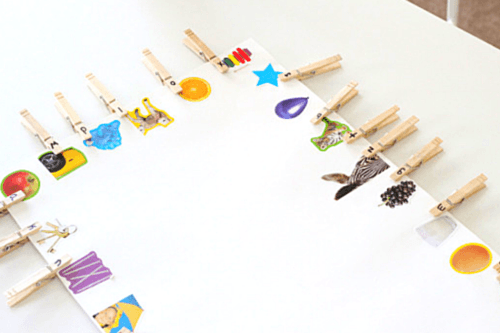 This beginning sounds matching activity can be used over and over again
