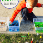 Earth Sensory Table Small World