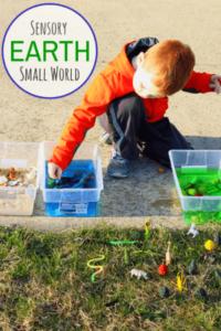 Earth Sensory Table Small World