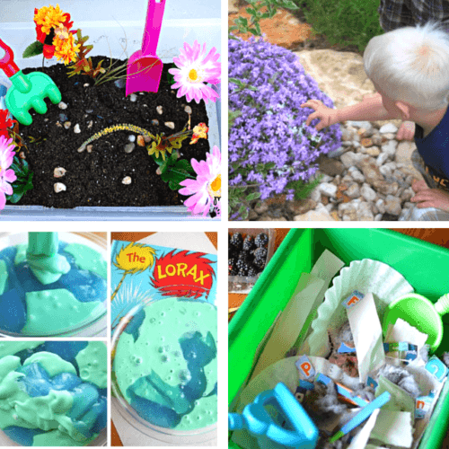Earth Day sensory learning activities for kids!