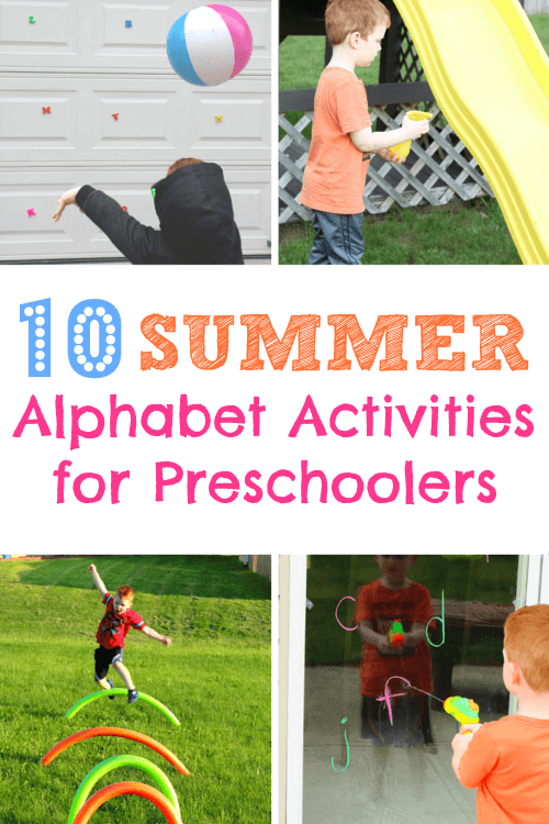 Top 10 Summer Alphabet Activities for Preschoolers