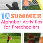 10 Summer Alphabet Activities for Preschoolers