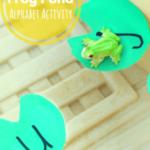 Frog Pond Alphabet Activity
