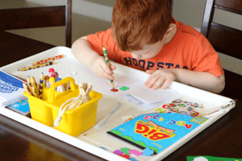 Books for preschoolers to make on their own.