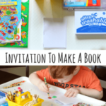 Preschool Invitation to Make Books