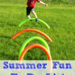 Summer Fun To-Do List for Preschoolers