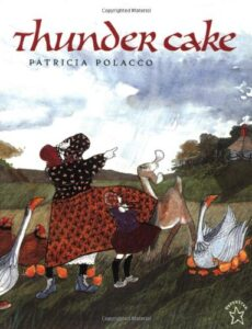 Thunder Cake. Books about thunderstorms