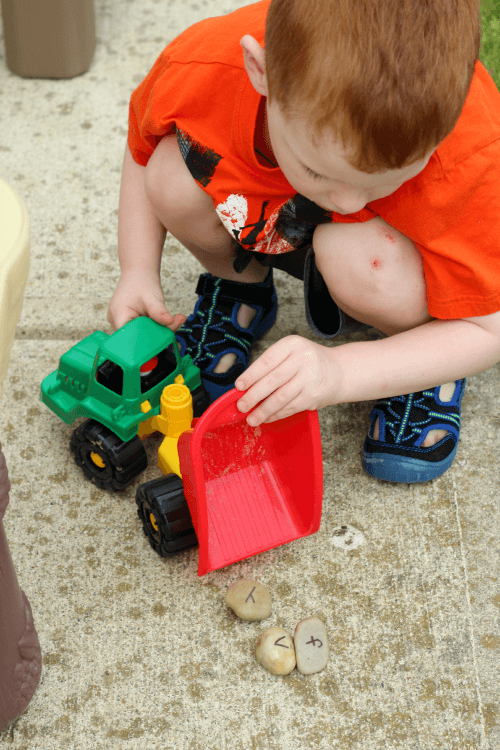 Practice letter identification and letter sounds with this move and learn alphabet activity!
