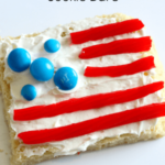 Kid-Made American Flag Cookie Bars