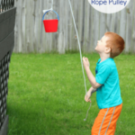 Learning Letters with a Rope Pulley Alphabet Activity