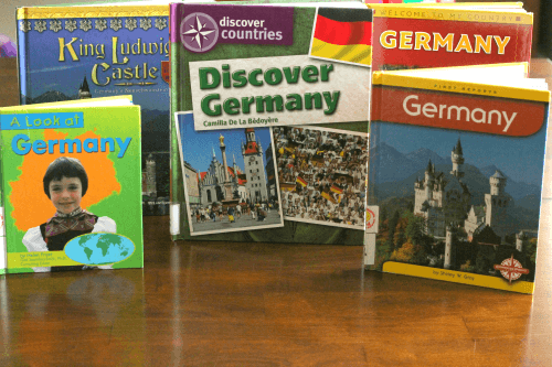 Books about Germany for Preschoolers