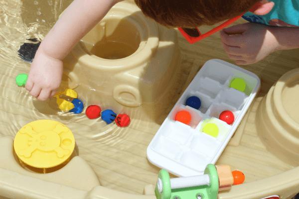 Fine motor skills practice for preschoolers.