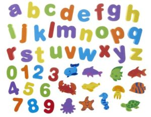 Foam letters are one of the best preschool learning supplies