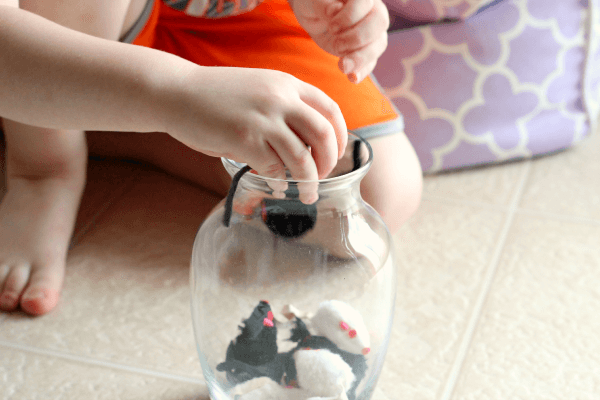 Mouse count story retelling activity