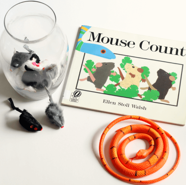 Mouse Count math and story retelling activity.
