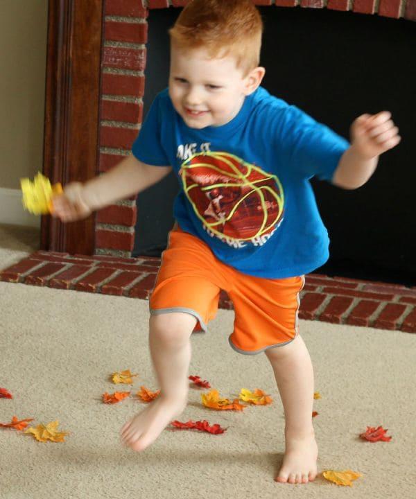 Active, hands-on alphabet activity for kids!