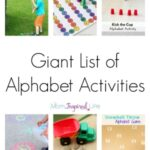 Awesome Alphabet Activities That Your Kids will Love