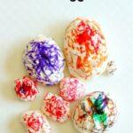 Homemade Clay Dinosaur Eggs