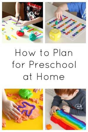Tips to get you started with home preschool planning!