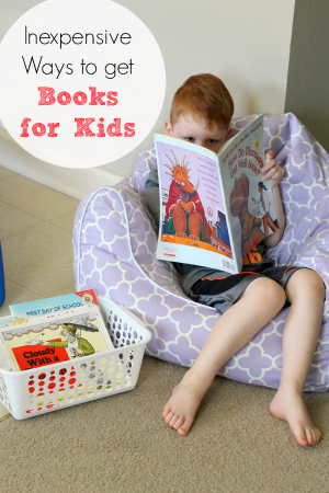 Cheap ways to get books for kids and fill your home library!