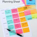 Printable Preschool Planning Sheet