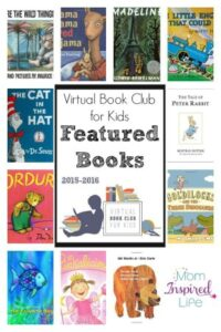 Join Us for the Virtual Book Club for Kids 2015-2016