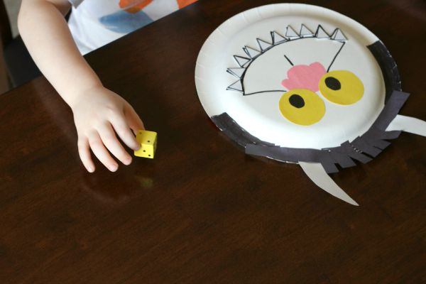 A counting activity to go with the book Where the Wild Things Are