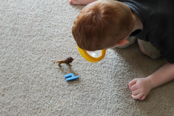Practice letter identification and beginning sounds with a dramatic play activity!
