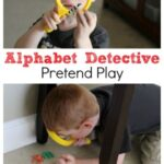 Alphabet Detective Pretend Play