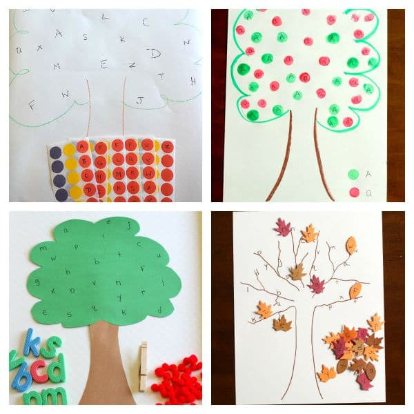 Letter recognition, letter matching, letter sounds for preschoolers