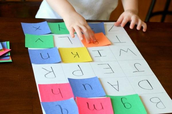 Book extension alphabet activity for Llama Llama Red Pajama