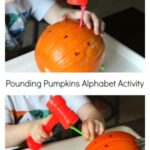 Pounding Pumpkins Alphabet Activity