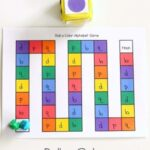 Roll a Color Alphabet Game