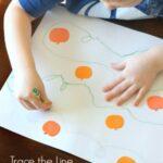 Follow the Line Around the Pumpkin Patch