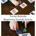 Forest Animals Beginning Sounds Activity