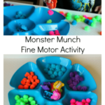 Monster Munch Fine Motor Activity